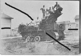 Armée Française St Chamond 280 Tr  à Chenille Artillerie France 40? (6) - Krieg, Militär