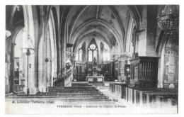 Verberie (Oise) Intérieur De L'église Saint-Pierre - Verberie