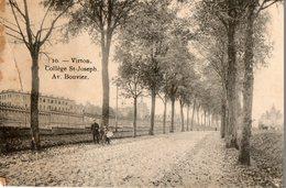 Belgique. CPA. VIRTON. Collége Saint Joseph, Avenue Bouvier, 1919. - Virton