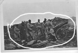 Armée Française Artillerie Montagne 1930 Petit St Bernard Alpin (8) - Krieg, Militär