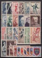 Annee 1953 Complete - 28 Timbres - Du N°940 Au N°967 - Neufs Avec Trace De Charniere - Cote 117€ - France