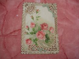 Mignonette Gaufree   Decoupe Carte Fantaisie - Tarjetas De Fantasía