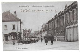 MONTELIMAR - Casernes Saint Martin - Sortie De Soldats - Montelimar