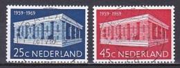 Netherlands/1969 - NVPH 925-926 - USED/'GRAVENHAGE' - Period 1949-1980 (Juliana)