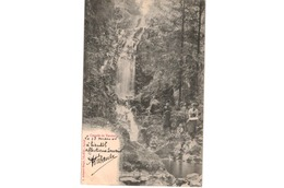 Cascade De Tendon - France