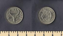 Madagascar 10 Francs 1989 - Madagaskar