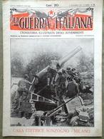 La Guerra Italiana 12 Dicembre 1915 WW1 Trieste Cirenaica Trombi Sagrado Balcani - Guerra 1914-18