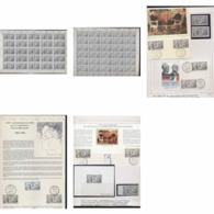 085 Charles De Gaulle - Neuf ** MNH 2501 Superbe Ensemble Non Dentelé (imperforate) + Epreuve Feuilles (sheets) .. - France