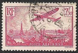 FRANCE  1936  -  PA 11 - Oblitéré - Cote  9.20e - Poste Aérienne