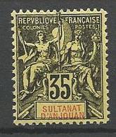 ANJOUAN N° 17 NEUF*   CHARNIERE TB  / MH - Anjouan (1892-1912)