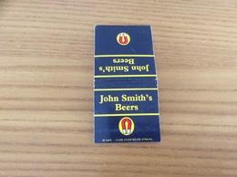 "Pochette D'allumettes ANGLETERRE ""John Smith's Beers"" (bière) - Matchboxes"