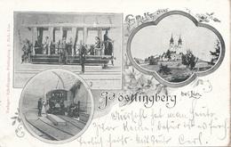 Litho PÖSTLINGBERG Bei LINZ (OÖ) - 3 Bilderkarte Gel.1898, Linz Bahnhofstempel, Gute Erhaltung - Linz Pöstlingberg