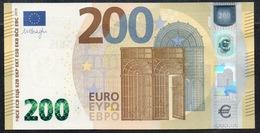 ITALIA € 200 SA S004 DRAGHI   UNC - EURO