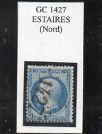 Nord - N° 22 Obl GC 1427 Estaires - 1862 Napoléon III.