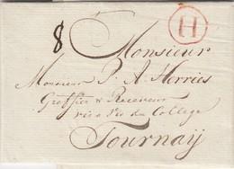 Amsterdam 31 Mai 1792 Par Anvers à Tournai (avec Texte) - 1790-1794 (Révol. Autrich. Et Invas. Franç.)