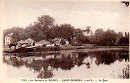 Saint Grégoire (35) : Le Quai - France