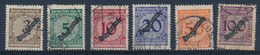 REICH - Dienstmarke - Mi Nr 99/104 - Gest./obl. - Cote 16,00 € - Servizio