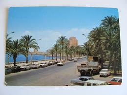 Libya - Bengasi Benghazi - Ennasser Street - Via Ennasser   LIBIA  LIBYE  AFRICA  POSTCARD UNUSED - Libia