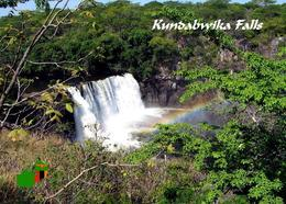 Zambia Kundabwika Falls New Postcard Sambia AK - Zambia
