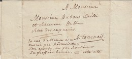 Franes Ou Frasnes (?) Le 25 Février 1783 à Tournai (avec Texte) - 1714-1794 (Pays-Bas Autrichiens)