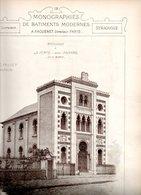 Monographies De Bâtiments Modernes N° 79 : Synagogue De La Ferté Sous Jouarre (77) - Architecture