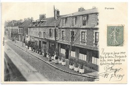 Cpa...Persan...les Hotels...animée...1905... - Persan