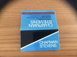 Pochette D'allumettes ANGLETERRE «CHAPMAN STEVENS - Registered Insurance Brokens» - Matchboxes