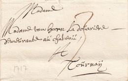 Gand 9 Novembre 1717 à Tournai (avec Texte) - 1714-1794 (Pays-Bas Autrichiens)
