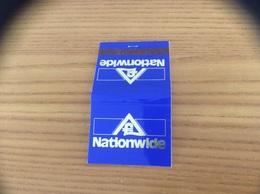Pochette D'allumettes ANGLETERRE «Nationwide» - Matchboxes