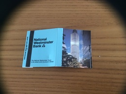 Pochette D'allumettes ** ANGLETERRE «National Westminster Bank» - Matchboxes