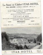 SILA GRANDE - CONTRADA CAMIGLIATI - COSENZA - Doppia - VIAGGIATA - Cosenza