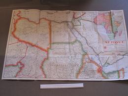 CARTE FOLDEX Rue Legendre Paris - AFRIQUE  N°1 - NORD EST - Geographical Maps