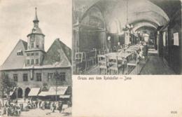 R202218 Gruss Aus Dem Ratskeller. Jena. 6116. H. Leistenschneider. Multi View - Ansichtskarten