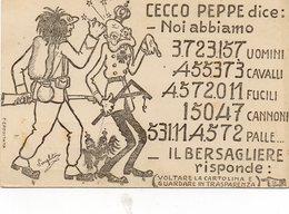TRIESTE.......cartolina Da Guardare In Trasparenza - NON  VIAGGIATA - Humoristiques
