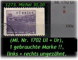 TURKEY ,EARLY OTTOMAN SPECIALIZED FOR SPECIALIST, SEE.... Mi. Nr. -.- 1702 Links+rechts U -R- - 1921-... República