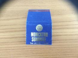Pochette D'allumettes Tissu ANGLETERRE «MONCKTON SUNBRITE» - Matchboxes
