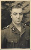 1939/45 - SS Deutsche Soldat, Orginal Foto 14X9cm. 2 Scan - War 1939-45