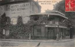 CPA - JOUY-EN-JOSAS ( S-et-O ) - Hôtel De La Gare - Jouy En Josas