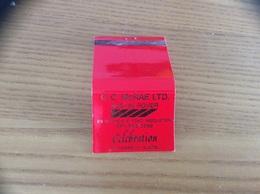 Pochette D'allumettes ANGLETERRE «C.C. McRAE LTD. AUSTIN ROVER» (voiture) - Matchboxes