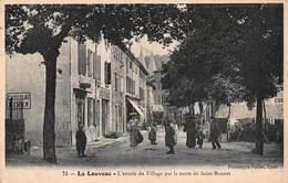 CPA La Louvesc - L' Entrée Du Village Par La Route De Saint-Bonnet - La Louvesc