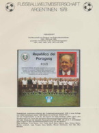 414 Football (Soccer) Argentina 78 - Neuf ** MNH - Paraguay N°  313 - Fußball-Weltmeisterschaft