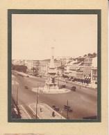 PORTUGAL Lisbonne AVENIDA 1932 Photo Amateur Format Environ 7,5 Cm X 5,5 Cm - Lugares