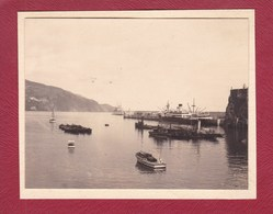 PORTUGAL Port De MADERE 1928 Photo Amateur Format Environ 7,5 Cm X 5,5 Cm - Lugares