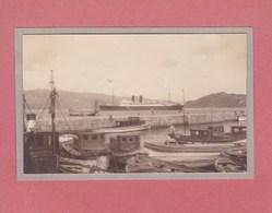 VIGO ESPAGNE 1932 Le Port Bateaux Photo Amateur Format Environ 7,5 Cm X 5,5 Cm - Lugares