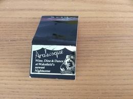 Pochette D'allumettes ANGLETERRE «Arabesque - Winehouse, Dine & Dance» - Matchboxes