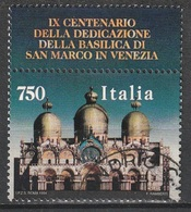 Italia 1994: Basilica Di San Marco A Venezia - N. Yvert 2081 - 6. 1946-.. Repubblica