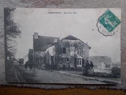 """GRANDVELLE.70.CPA.""""rue De La Gare"""".éditeur Folitot. - Autres Communes"""