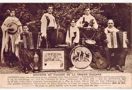 LA TROUPE FALLONE   Souvenir Du Passage De  ... - Musique Et Musiciens