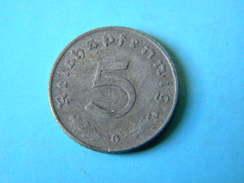 ALLEMAGNE - 5 REICHSPFENNIG 1941.G. - [ 4] 1933-1945 : Third Reich