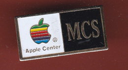 59463-Pin's.Apple Center .MCS.informatique.. - Informatique